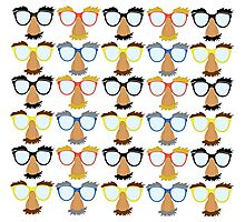 Goofy Glasses Photographic Print