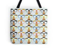 Goofy Glasses Tote Bag