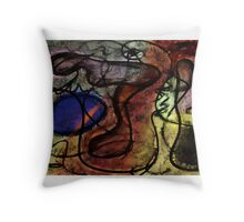 Chasse au trésor / Treasure Hunt Throw Pillow