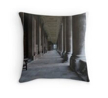 Pillars of the Royal Naval College Greenwich Throw Pillow