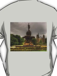 Fountain and Church T-Shirt