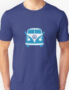 VW Camper T Shirt (blue) Unisex T-Shirt