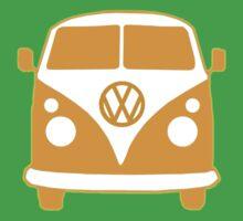 VW Camper T Shirt (orange)