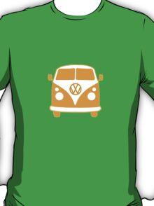 VW Camper T Shirt (orange) T-Shirt