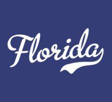 Florida Script White by USAswagg