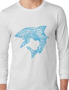 Shark_bites Long Sleeve T-Shirt