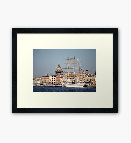Cuauhtemoc  Mexican three-masted barque  Framed Print