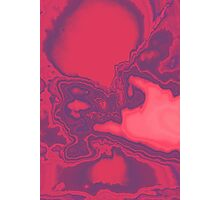 Geological Survey in Pink Photographic Print