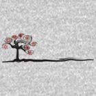 Red Flower Tree by SaMack