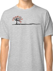 Red Flower Tree Classic T-Shirt