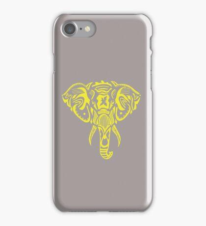 Yellow_Phant iPhone Case/Skin