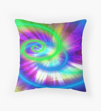 Just Think Throw Pillow
