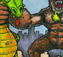 King Kong Vs. Floaty Sticker
