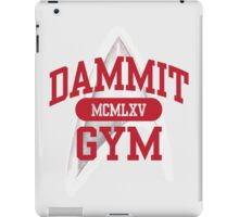 Dammit Gym 1965 iPad Case/Skin