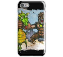 King Kong Vs. Floaty iPhone Case/Skin