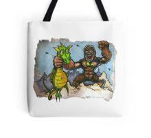 King Kong Vs. Floaty Tote Bag