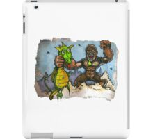 King Kong Vs. Floaty iPad Case/Skin