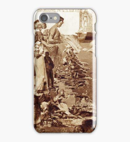 Feeding Fish. iPhone Case/Skin