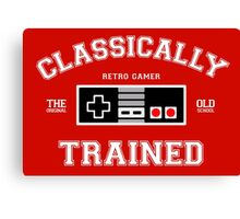 Classically Trained Canvas Print