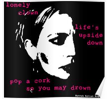 Lonely Clown Poster