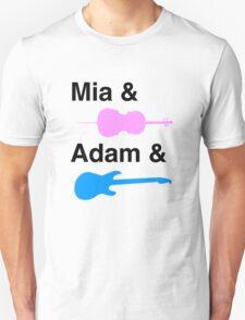 Mia & (Cello) & Adam & (Guitar). T-Shirt