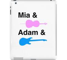 Mia & (Cello) & Adam & (Guitar). iPad Case/Skin
