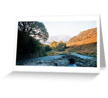 Another shot of the lakes Greeting Card