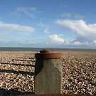 Eastbourne beach/groins by Kayleigh Sparks