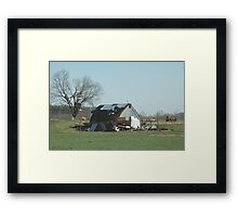 Reality of a midwest tornado 3 Framed Print