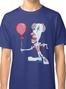 Circus Clown w. Red Ballon Classic T-Shirt