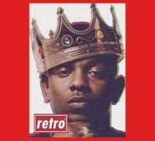 Kendrick Lamar - Retro  Kids Clothes