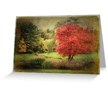 Antique Autumn Greeting Card
