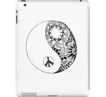 Hippie Yin Yang iPad Case/Skin