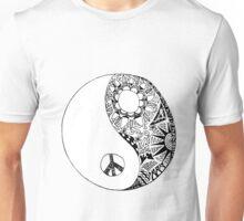 Hippie Yin Yang Unisex T-Shirt