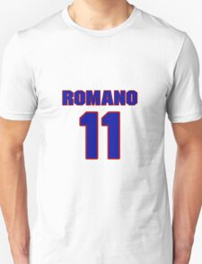 National baseball player John Romano jersey 11 T-Shirt