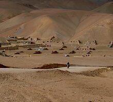 Village Afghanistan by Antanas