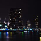 Melbourne at night 11 by DavidsArt