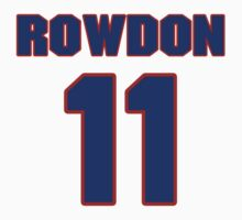 National baseball player Wade Rowdon jersey 11 by imsport