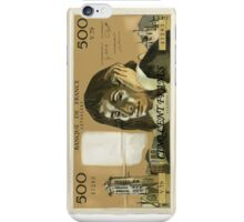 50 Old French Franc  note - Front side iPhone Case/Skin