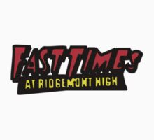 Fast Times Logo Kids Clothes