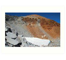 Yosemite's fading glaciers Art Print