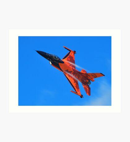 Flying Orange Art Print