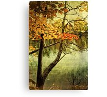 A Tranquil  Autumn Day Canvas Print