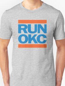 Run OKC Basketball Shirt T-Shirt