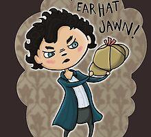 It's an ear hat, John! by Tiia Öhman