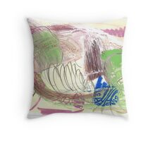 painting 173 Throw Pillow