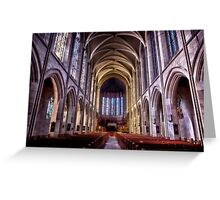 St. John's Cathedral, Denver Greeting Card