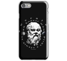 socrates iPhone Case/Skin