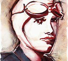 Amelia Earhart by Kandra Scullin