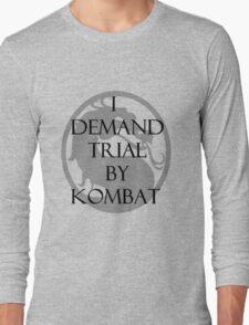 Trial by Kombat Long Sleeve T-Shirt